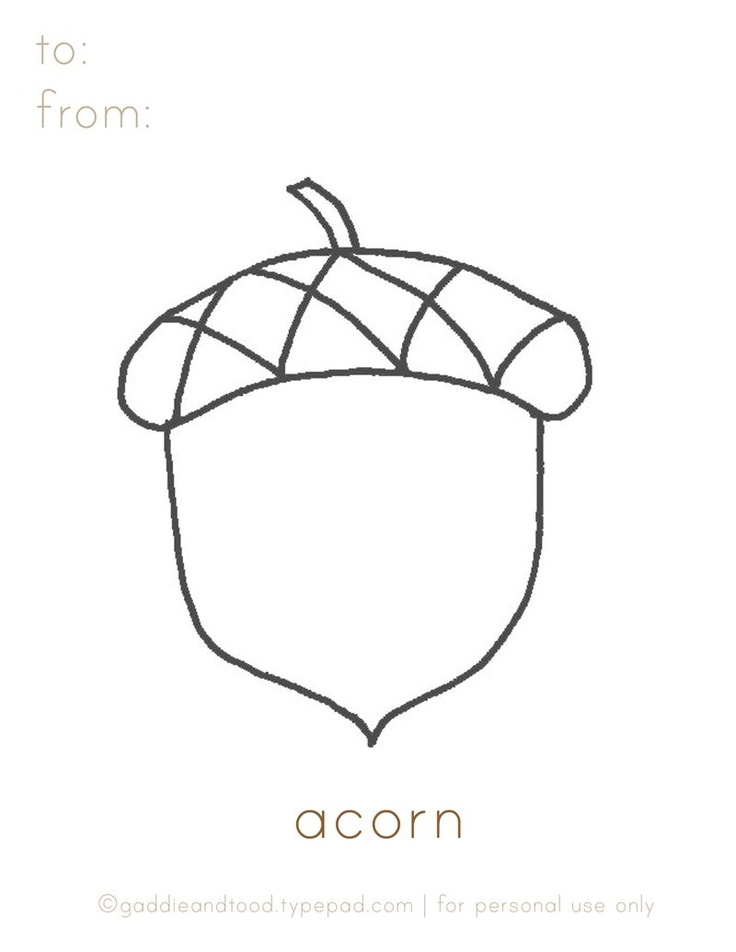 Fall Acorn Coloring Pages Coloring Pages Acorn Coloring Page