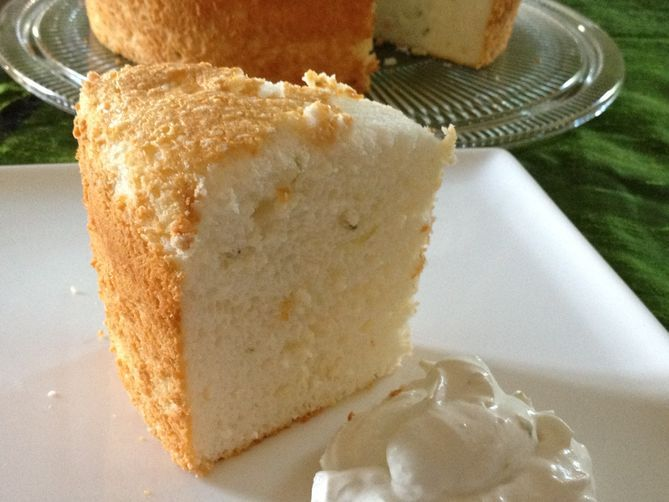 Coconut Angel Food Cake Recipe — Dishmaps
