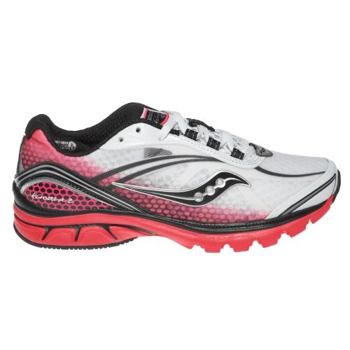 cute pink/white Saucony tennis shoes