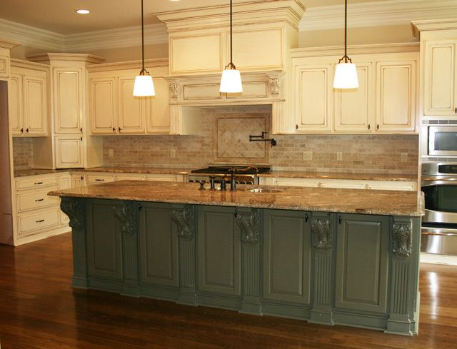 Kitchen 10 home decor pinterest for Kitchen cabinets for 7 foot ceilings