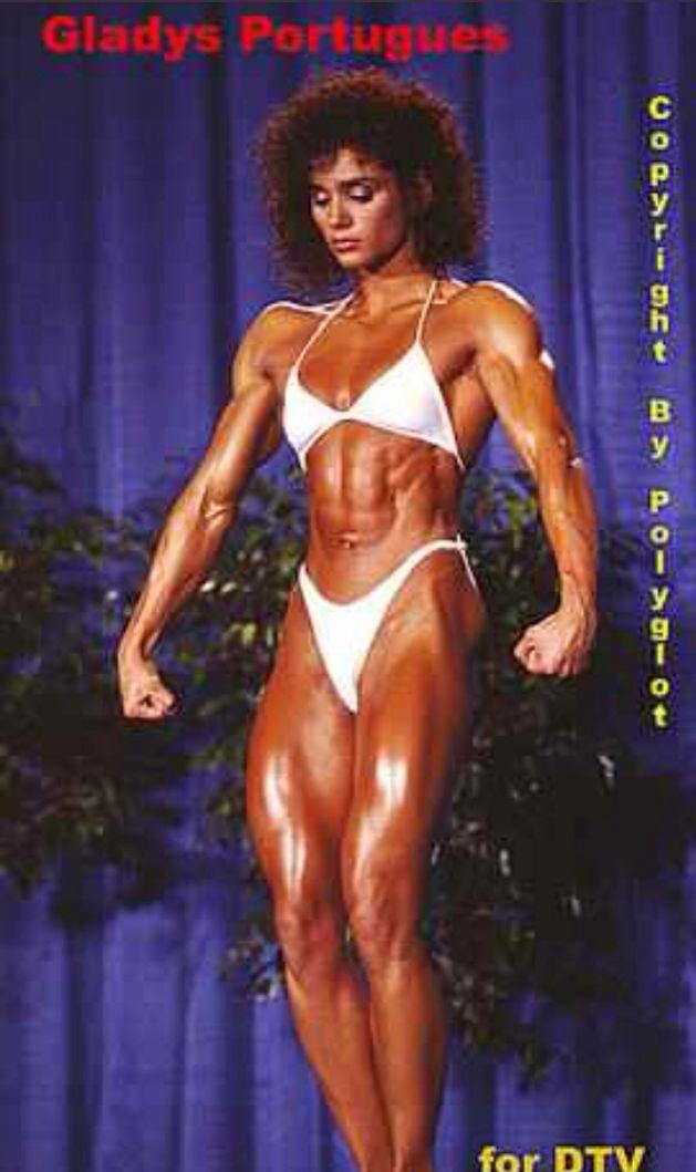 ... bodybuilder. She i...