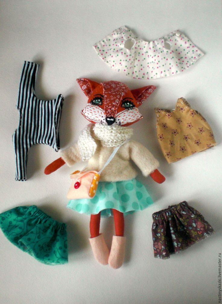 Игровые текстильные куклы для детей своими руками 52