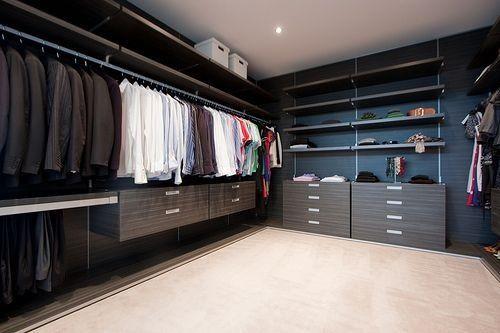 Mens closet luxury pinterest for Men s walk in closet