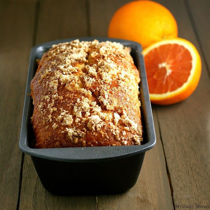 Orange White Chocolate Bread