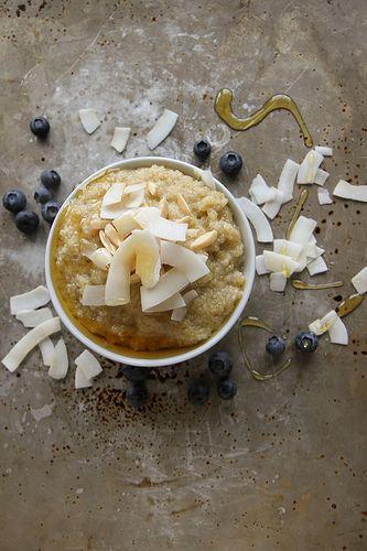 Coconut Quinoa Breakfast Bowl by Heather Christo, via Flickr