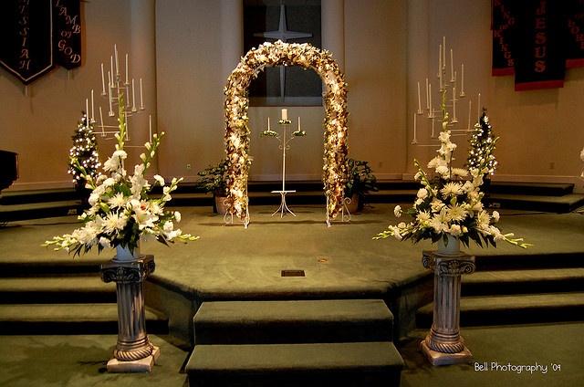 Sanctuary Wedding Decorations   Wedding Ideas   Pinterest