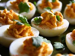 Smoky Deviled Eggs recipe - perfect for any get together!