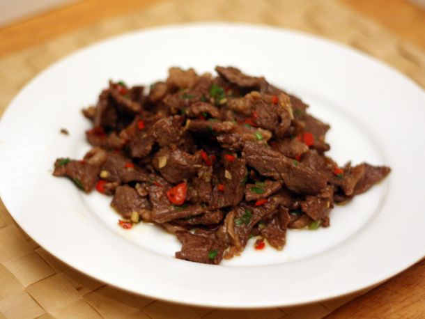 beef with cumin -- the beef short ribs are brilliant, but the cumin ...
