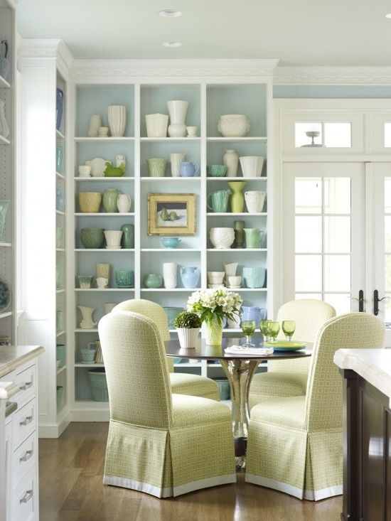 dining room shelving decor ideas pinterest
