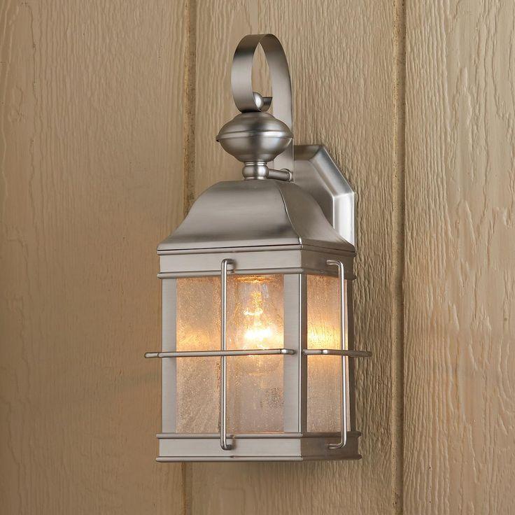 Nautical Exterior Wall Lights : Nautical Inspired Lantern Outdoor Wall Light