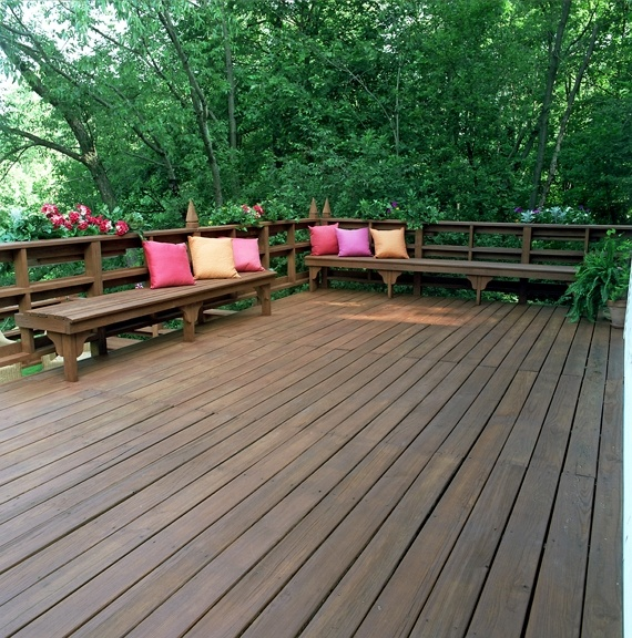 Cwf deck stain ask home design for Exterior wood stain flood