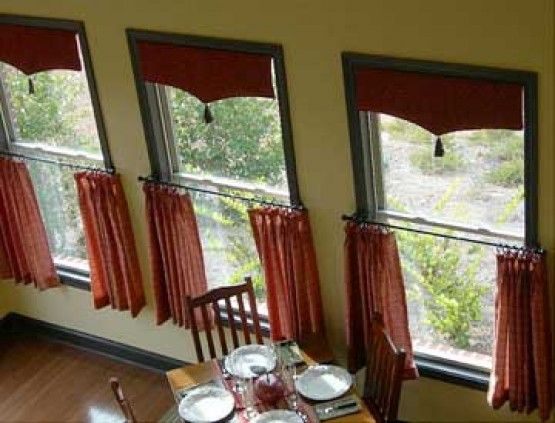 cafe curtains style window treatments | Beautiful Window Treatment ...