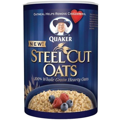 Quaker Steel Cut Oats | Foods We Like To Buy | Pinterest