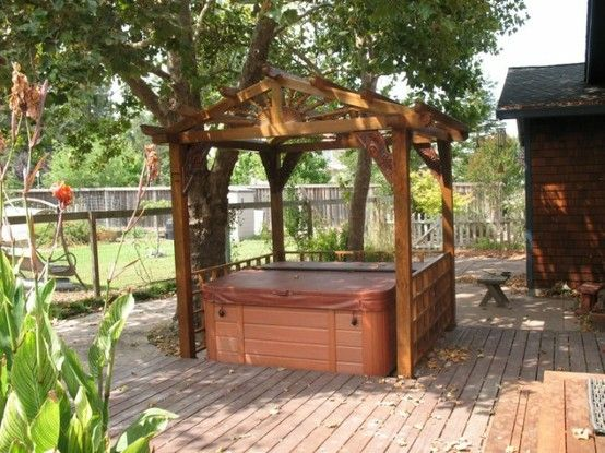 Backyard Hot Tub Ideas :  The perfect hot tub #iPad Case Backyard Hot Tub Ideas  Bing Images