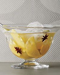Champagne Holiday Punch.
