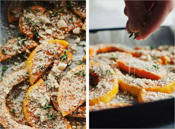 crusted butternut squash | Food | Pinterest