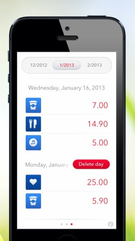 iphone expense tracking app reviews