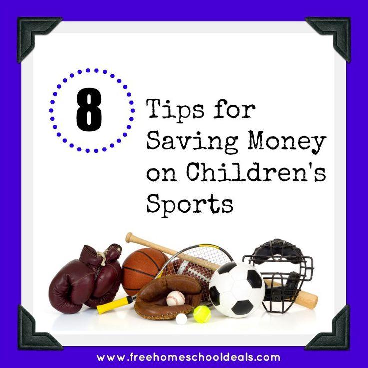 Saving money on childrens sports