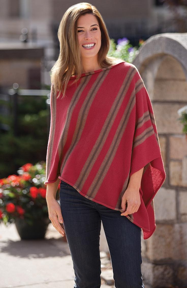 Asymmetrical Poncho | Women's Clothing | Acacia Catalog