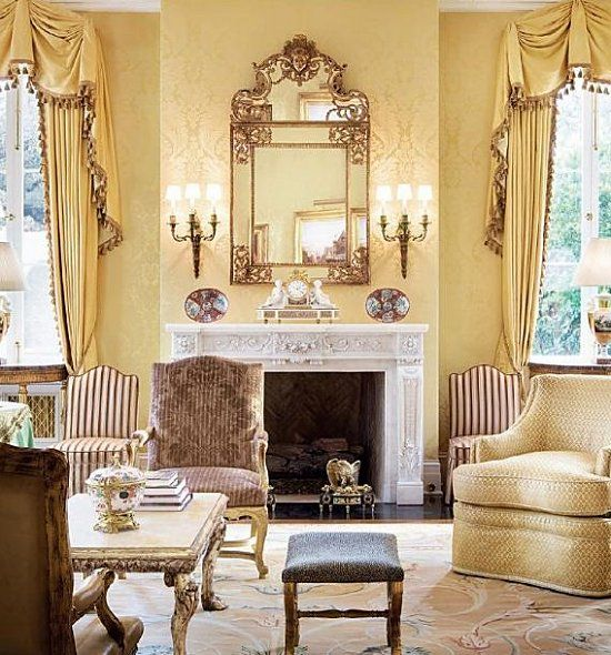 Baroque living room 2 color theory 2013 pinterest for Baroque living room ideas