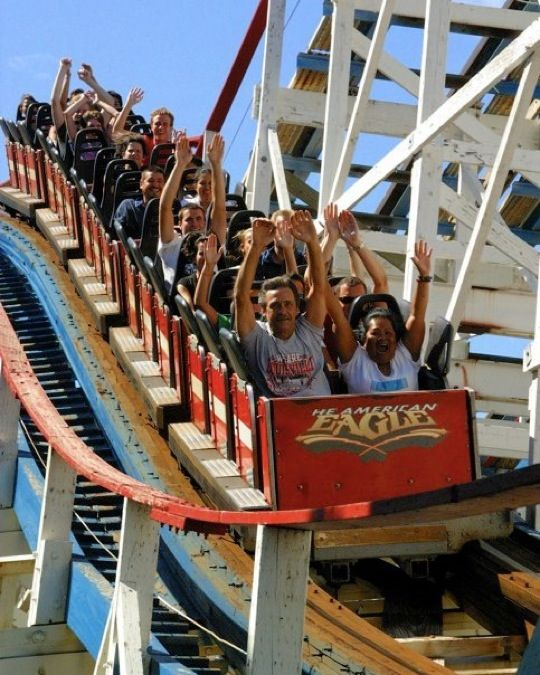 six flags great america physics day