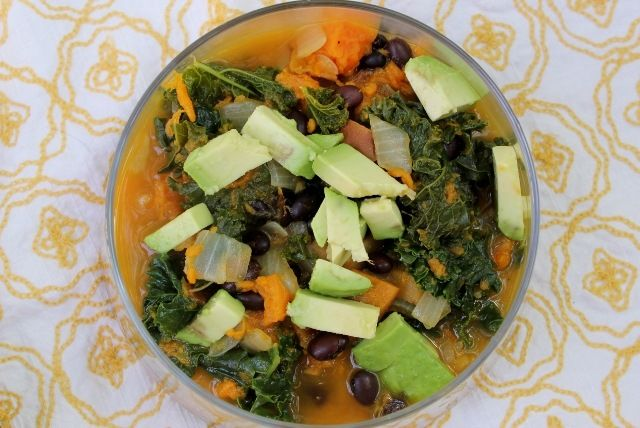 Kale and Roasted Vegetable Soup | Zoups | Pinterest