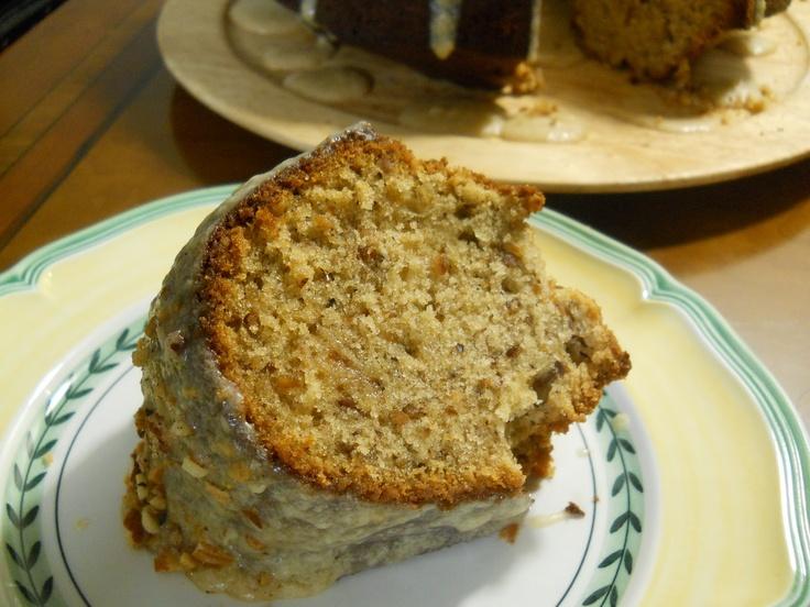 Maple Walnut Pound Cake | Baking | Pinterest