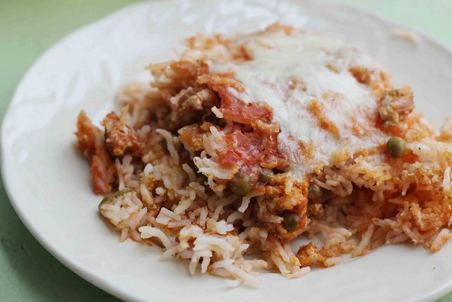 Sicilian Rice Ball Casserole | Recipes: Main Dishes | Pinterest