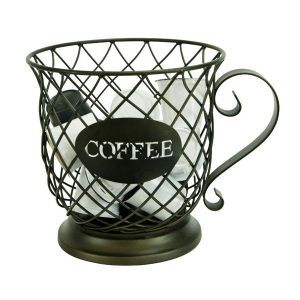 The Paper Store Boston Warehouse Wire Coffee Cup K Cup Holder