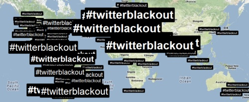 #twitterblackout visualized