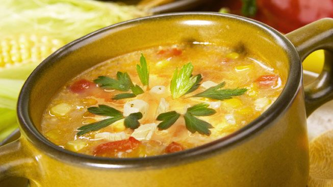 Chipotle Turkey and Corn Soup | Soups | Pinterest