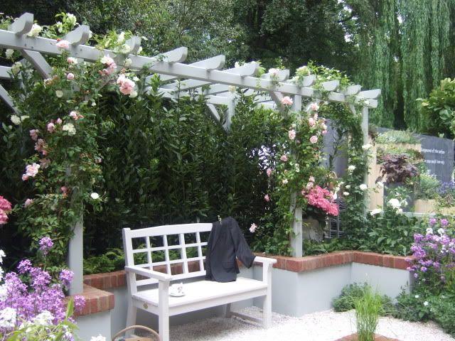Christian before dior garden garden pinterest for French courtyard garden ideas