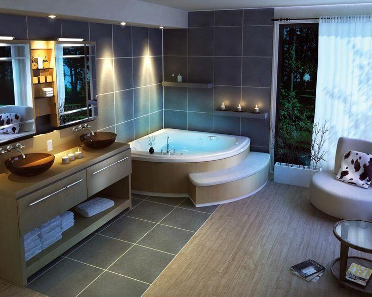 New Luxury Bathroom LED Lighting Ideas  Home Interior Designs