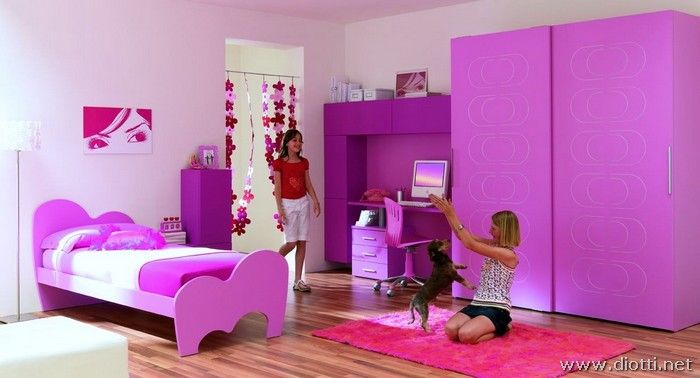 Purple Girls Bedroom Furniture Purple Red Pinterest