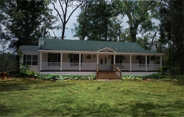 Porches For Double Wide Mobile Homes 44x64 3 Bedroom 2