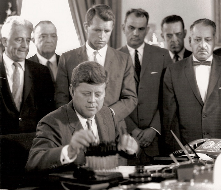 an essay on the president john kennedy and the issues of civil rights President lyndon johnson signs the civil rights act bill  senator john f kennedy debates vice president richard m nixon  this essay does not address the .