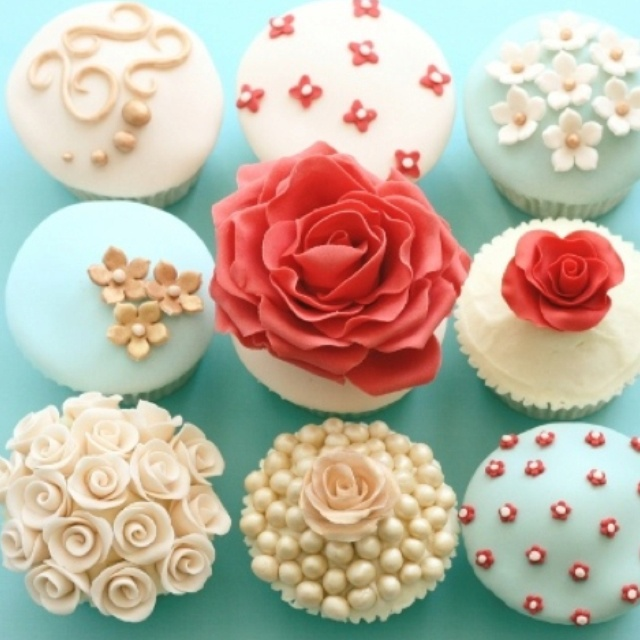 Bridal shower cupcakes bridal shower cupcakes pinterest for Wedding shower cupcakes