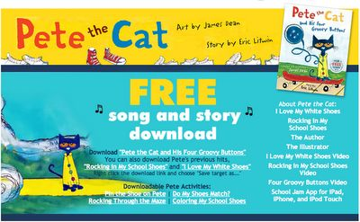 A Place Called Kindergarten- Pete the Cat