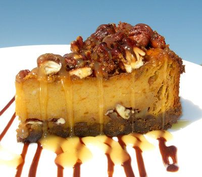 praline pumpkin torte recipe | Pumpkin-Praline Cheesecake ...