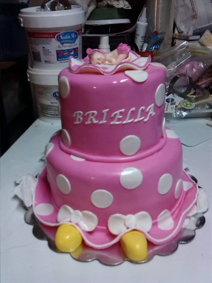 minnie mouse theme baby shower cake greathouse cakes n treats pin