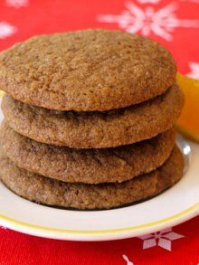 Orange Ginger Cookies | Weelicious - soft and chewy. Really easy ...