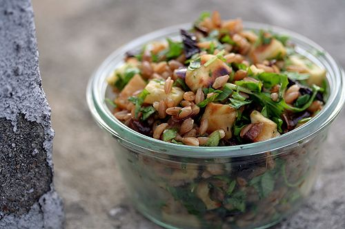 Feeling root vegetable-y? - Wheat Berry and Roasted Root Salad