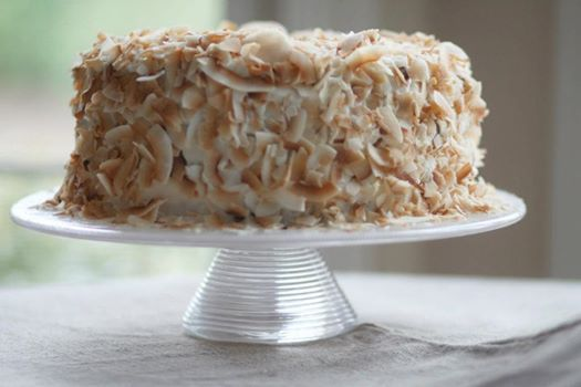 Coconut Southern Comfort Layer Cake Recipe — Dishmaps