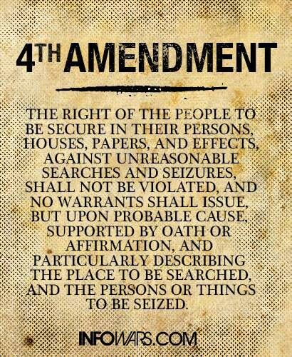 an analysis of the topic of the fourth amendment to the constitution That the court should restrict any reasonable mistake of law ruling to the remedy stage of fourth amendment analysis a simple answer to a deceptively simple fourth amendment whether the proclamation violates the establishment clause of the constitution.