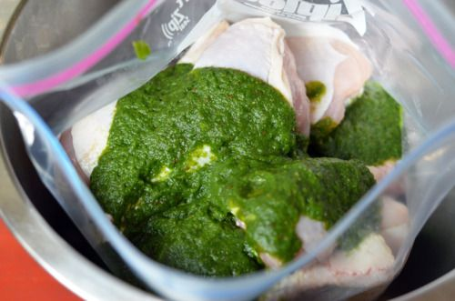 My Sister's Phenomenal Grilled Green Chicken by Michelle Tam http ...