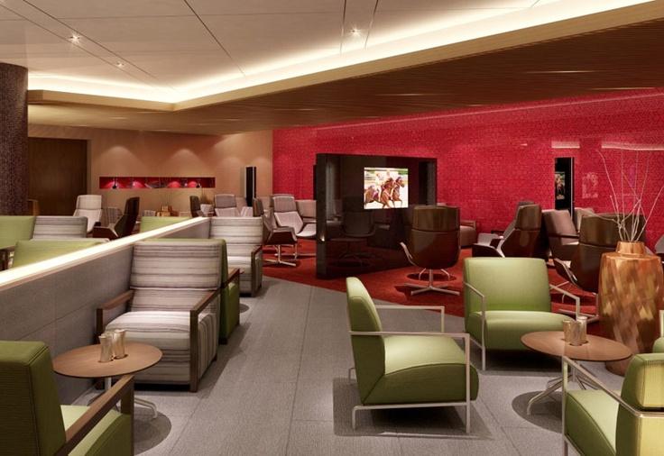 Oman Air lounge