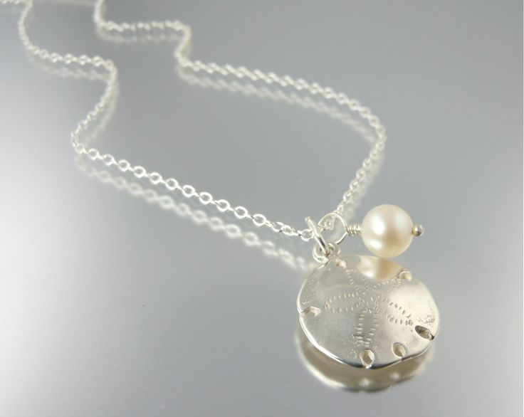 FREE GIVEAWAY: Seaside Sand Dollar Necklace