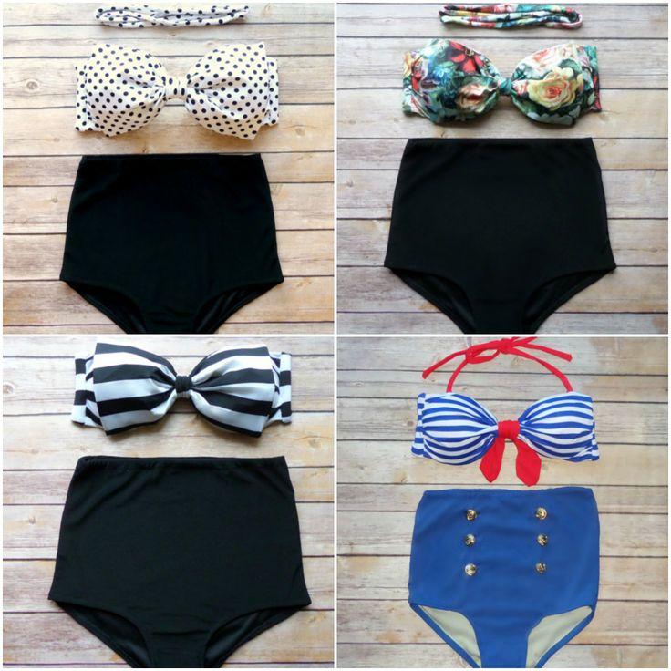 Trajes De Baño Estilo Vintage:En este verano predominarán los trajes de baño estilo vintage