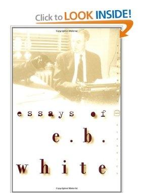 e b whites essays