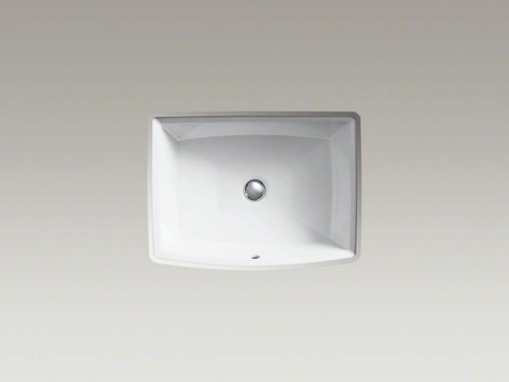 Kohler Archer Undermount Bathroom Sink : Kohler Archer Under-mount sink #K-2355-0 H 7-1/2